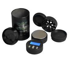 Stash seguro se puede ampliar el almacenamiento Molinillo de tabaco hierba Balanzas Digitales 100G X 0.01G