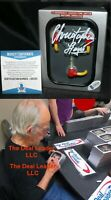 Christopher Lloyd Back To The Future Doc signed Flux Capacitor BAS PSA Beckett