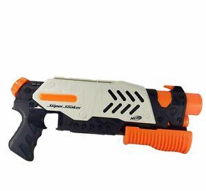 NERF Super Soaker Toy Water Gun Blaster Cannon Scatterblast Rifle - White Hasbro