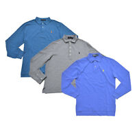 Polo Ralph Lauren Mens Long Sleeve Polo Shirt Classic Fit Mesh S Xl Xxl New Nwt