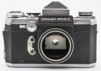 Wirgin Edixa Reflex D body Gehäuse SLR-Kamera analoge Spiegelreflexkamera