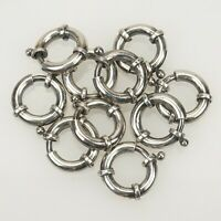 925 Silver Clasp Chain Pocket Watch Dog Sterling Clip Fusee Albert Fob Jewellery