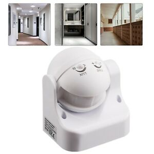 Outdoor PIR Motion Movement Sensor Detector Switch For Security Lighting