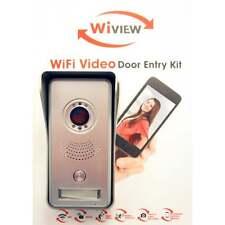 WiView Wifi Door Bell Doorbell Video Door Entry, Night Vision, Home Security