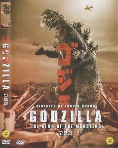 Godzilla (1954) Ishirô Honda / Momoko Kôchi / Akihiko Hirata DVD NEW *FAST SHIP.