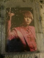 Beast junhyung midnight sun limited ed official Photocard  Card Kpop K-pop