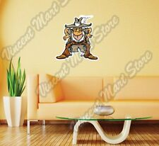 "Western Cowboy Bandit Wild West Gun Wall Sticker Room Interior Decor 20""X25"""