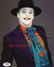 JACK NICHOLSON - JOKER - BATMAN  AUTOGRAPHED PICTURE SIGNED 8X10 PHOTO REPRINT
