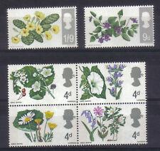 Sellos de Gran Bretaña, flores