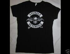 AVENGED SEVENFOLD Junior Size Medium Black T-Shirt