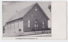 ROYERSFORD PA VIEW OF FIRST BAPTIST CHURCH PRE 1907