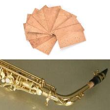 10x Saxophon Korken Sopran / Tenor / Alto Hals Cork Saxophon Teile Zubehör WH