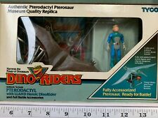 PTERODACTYL with LLAHD Heroic Dino-Riders  and Accessories Vintage 80s Toy Box A