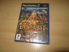 PS2 Everquest Online aventuras Reino Unido PAL, nuevo y sellado de fábrica Sony