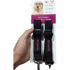 2 Pack Pet Cat Dog Safety Seat Belt for Car SUV Adjustable Harness Lead