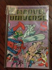 The Official Handbook of the Marvel Universe S Comic Book 1982 Oct #10 shi'ar !!