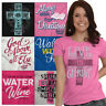 Jesus Tees Shirt Religious Graphic T Shirts For Ladies Womens Pray Gift Tshirts