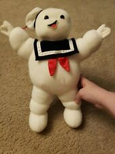 Vintage 1986 Kenner Ghostbusters Stay Puft Marshmallow Man Plush Glow In Dark