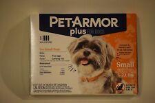 Pet Armor Plus Dog Flea Tick 4-22lb 3ct- brand new sealed