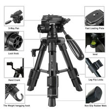 Portable Aluminium Travel Tripod CamHolder For Canon Nikon Digital SLR Cameras