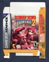 2004 Nintendo Game Boy Donkey Kong Country 2 Original Promo Box Store Display