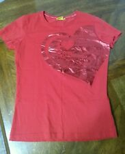 I Heart Ferrari World T shirt Red Medium Womens