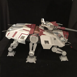 Star Wars Clone Wars AT-TE WALKER Vehicle Hasbro Toy Electronic Working