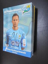29434 Garbuschewski 11-12 Chemnitzer FC CFC original signierte Autrogrammkarte