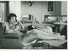 SEXY MAGALI NOËL  OH ! QUE MAMBO  1959 VINTAGE PHOTO ORIGINAL