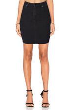 Denim Straight, Pencil Mini Skirts for Women