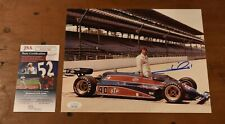MARIO ANDRETTI Signed Autographed 8x10 Photo-All Time Racing Great-JSA