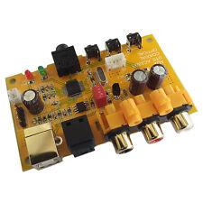 DAC Audio Decoder PC USB Sound Card Optical Coaxial Headset Digital AC3.DTS.5.1