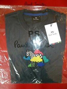 Paul Smith T Shirt ZEBRA IN CLOUDS Size MEDIUM BNWT