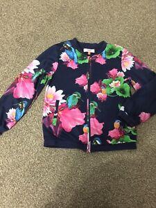 Gorgeous Ted Baker Girls Jacket Size 9-10 Years