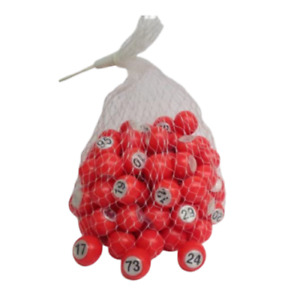 NUMBERED BALLS BINGO BALLS RAFFLE BALLS 1-100,101-200, 201-300, 301-400, 401-500