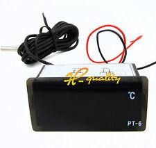 220v -50 ℃ ~ + 110 ℃ Termometro digitale misuratore della temperatura acquario + Sensore