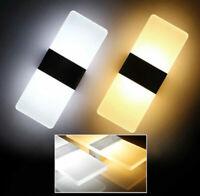USA Sconce LED Wall Light Walkway Lights Bathroom Light Cube Indoor Lamp Fixture