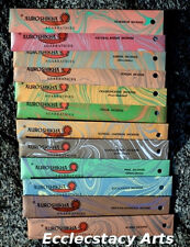 Auroshikha 12 Traditional Woods & Resins Incense Stick Collection-Popular Scents