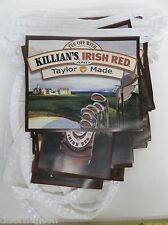 New Killian'S Irish Red Beer & Taylor Made Golf Pennants Sign 35 feet long