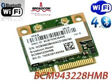 HP 666914-001 Wireless a/b/g/n +Bluetooth 4.0 WiFi Half Mini PCIe Card