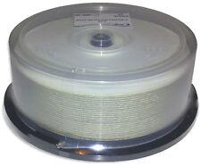 50-Pak MBI (Moser Baer) 25GB 4X =WHITE INKJET HUB PRINTABLE= Blu-ray BD-R's