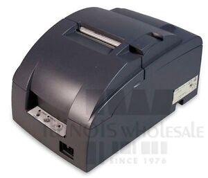 Epson TM-U220B POS Printer, Parallel Interface, Dark Grey