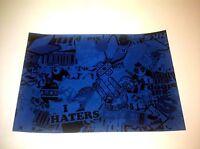 Sticker Bomb Lot Pack Graffiti Wrap JDM Decal Vinyl Sheet Blue & Black Style