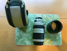 Canon zoom lens: 100-400 mm 1:4.5-5.6 L IS II USM U.S. only