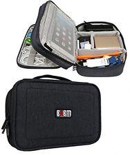 BUBM Double Layers Travel Gadget Organiser Case, Electronics Accessories Bag,