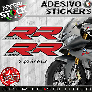 Stickers/Stickers Compatible BMW S 1000 RR 08-16 HP4 Motorcycle Grey Top Quality
