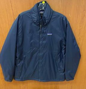Patagonia Men's Mojave Trails Packable Hood Jacket (New Navy, Large) 20310
