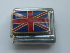 ITALIAN CHARM Union Jack - UK - British Flag fits all Italian bracelets