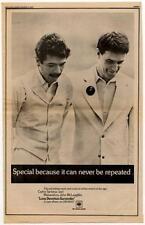 Carlos Santana John McLaughlin Mahavishnu LP advert