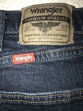 Men's Jeans WRANGLER RELAXED FIT JEANS Size 42 X 30                      - (8)